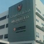 Photo taken at Kinderfield Highfield School Duren Sawit by Hadi W. on 10/24/2013