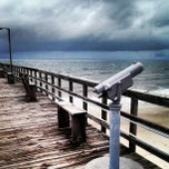 Photo taken at Oak Island Pier by Anthony A. on 6/6/2013