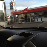 Photo taken at Caltex Gas Station by Tin M. on 11/8/2012