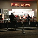 Photo taken at Five Guys by Henry Z. on 2/1/2013