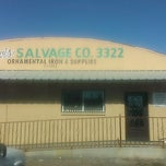 Photo taken at Davis Salvage Co. by Tyler H. on 12/23/2013