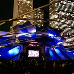 Photo taken at Jay Pritzker Pavilion by Anas A. on 10/11/2013