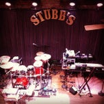 Photo taken at Stubb's Bar-B-Q by Mark D. on 12/18/2012