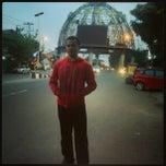 Photo taken at Tugu Adipura by Omy M. on 2/2/2013