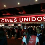 Photo taken at Cines Unidos by Alvaro e. on 7/28/2013