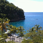 Photo taken at Anse Chastanet Resort by John R. on 10/25/2012