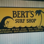 Photo taken at Bert's Surf Shop by Danelle S. on 7/19/2013