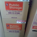 Photo taken at Public Storage by Janelle W. on 9/17/2012