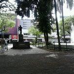 Photo taken at Largo do Riachuelo by Keuryanne G. on 11/5/2012
