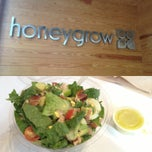 Photo taken at honeygrow by Richi T. on 7/17/2013