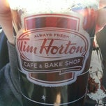 Photo taken at Tim Hortons by Tina H. on 4/2/2013