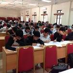 Photo taken at Học viện Công nghệ Bưu chính Viễn thông by Linh on 11/16/2013