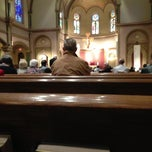 Photo taken at St Charles Borromeo Catholic Church by Mat M. on 5/5/2013