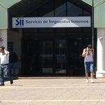 Photo taken at Servicio de Impuestos Internos by Rene on 12/13/2012