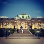 Photo taken at Schloss Sanssouci by Shi M. on 9/17/2012