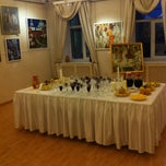 Photo taken at N-prospect art gallery by Olechka A. on 12/25/2012