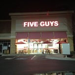Photo taken at Five Guys by J C. on 2/19/2013