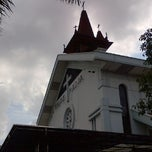 Photo taken at Gereja Katolik Kristus Raja by Samuel A. on 5/19/2013