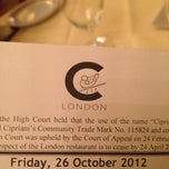 Photo taken at C London by Hamad A. on 10/26/2012