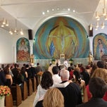 Photo taken at Iglesia Santa Teresa De Avila by Alberto E. on 10/14/2012
