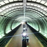 Photo taken at Cleveland Park Metro Station by Dave M. on 9/20/2013