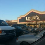 Photo taken at Lowe's Home Improvement by Chad R. on 3/6/2013