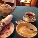 Photo taken at Ye Olde English Shoppe Tea Room by Justin G. on 1/16/2012