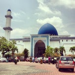 Photo taken at Masjid UNITEN by Uncle Y. on 3/10/2013