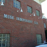 Photo taken at Muse Italian Club by Jim G. on 7/26/2013