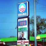 Photo taken at Obama Gas Station by Dave O. on 10/27/2013