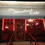 Photo taken at Bluebird Cafe by Stacia on 6/23/2013