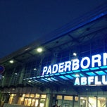 Photo taken at Flughafen Paderborn/Lippstadt (PAD) by Nastasja on 4/26/2013