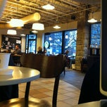 Photo taken at Starbucks by Aaron V. on 3/18/2013