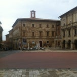 Photo taken at Piazza Grande by Stefano R. on 9/30/2012