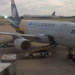 Photo taken at Gate E32 by Jessica F. on 10/23/2012