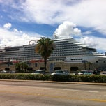 Photo taken at Galveston Cruise Terminal #2 by Matt on 8/11/2013