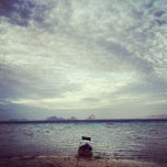Photo taken at Koh Ngai Cliff Beach Resort by Galazpop .. on 2/2/2013