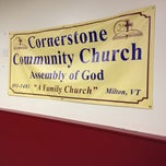 Photo taken at Cornerstone Church by Harjit on 10/13/2012