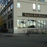 Photo taken at Zeppelin Hall Biergarten by Josh on 10/21/2012