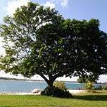 Photo taken at Lagoa do Bonfim by Riltomar O. on 2/10/2013