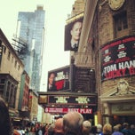Photo taken at Broadhurst Theatre by Noelle V. on 5/18/2013