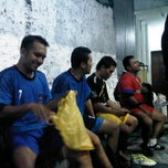 Photo taken at Dinasty Futsal and Cafe by iNDR B. on 10/19/2012