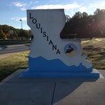 Photo taken at Louisiana / Texas State Line by Kia Y. on 11/8/2013