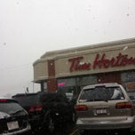 Photo taken at Tim Hortons by Ian T. on 10/20/2012
