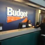 Photo taken at Budget Car Rental by John R. on 6/6/2013