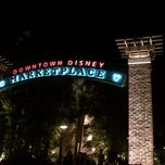 Photo taken at Downtown Disney Pleasure Island by ameya r. on 3/17/2013