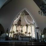Photo taken at Gereja Katolik Katedral Santa Perawan Maria Dari Gunung Karmel by danybro on 4/21/2014
