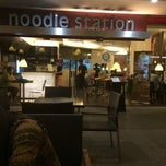 Photo taken at Noodle Station SACC by AdmiralPure on 11/17/2013