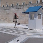 Photo taken at Πλατεία Συντάγματος (Syntagma Square) by Nina V. on 7/8/2013