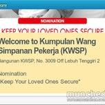 Photo taken at Kumpulan Wang Simpanan Pekerja (KWSP) by ketam m. on 11/4/2014